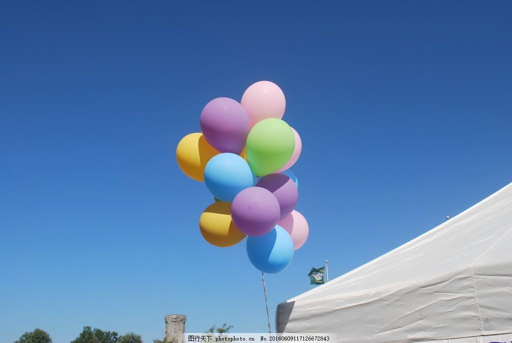 一束气球高清图片