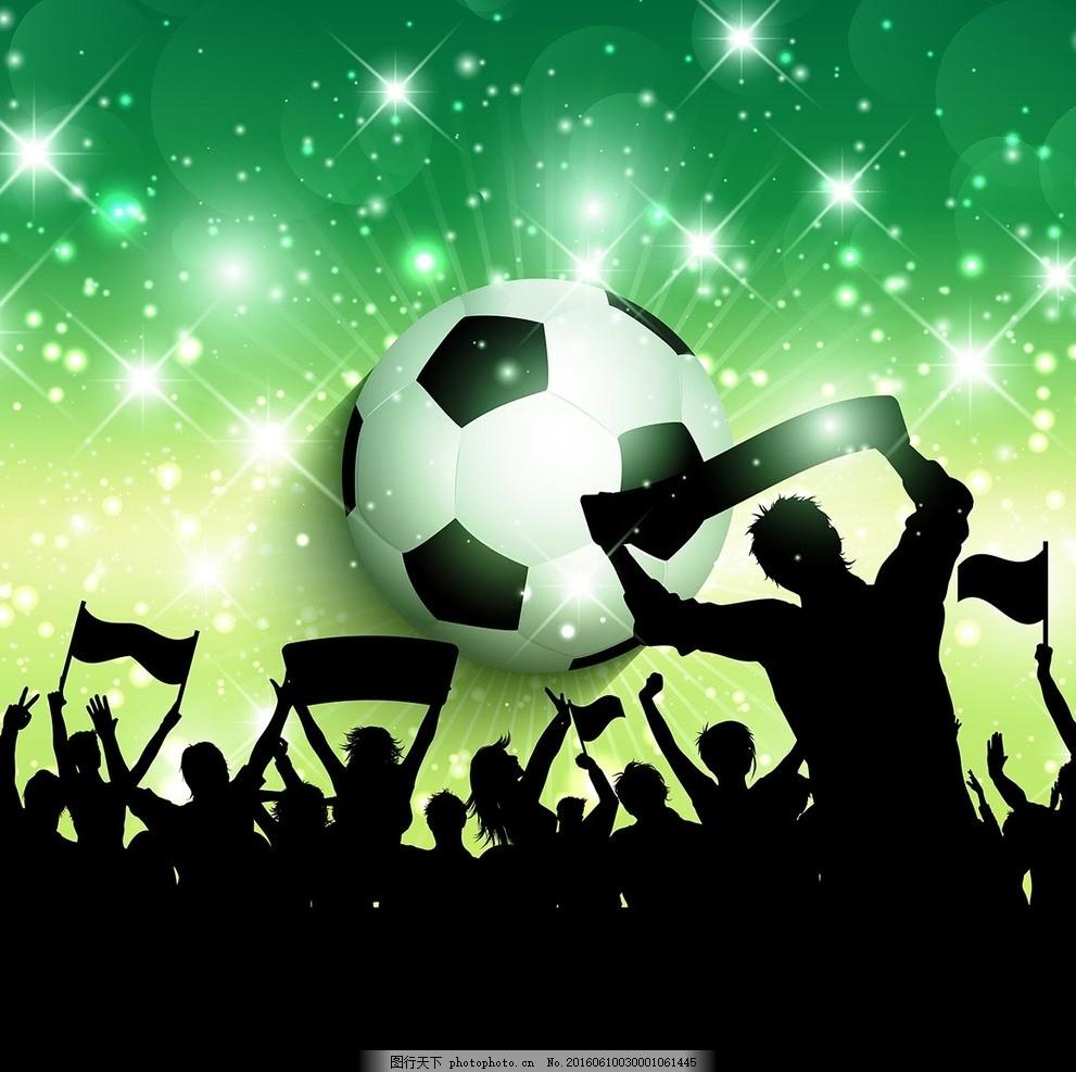 足球海报素材图片