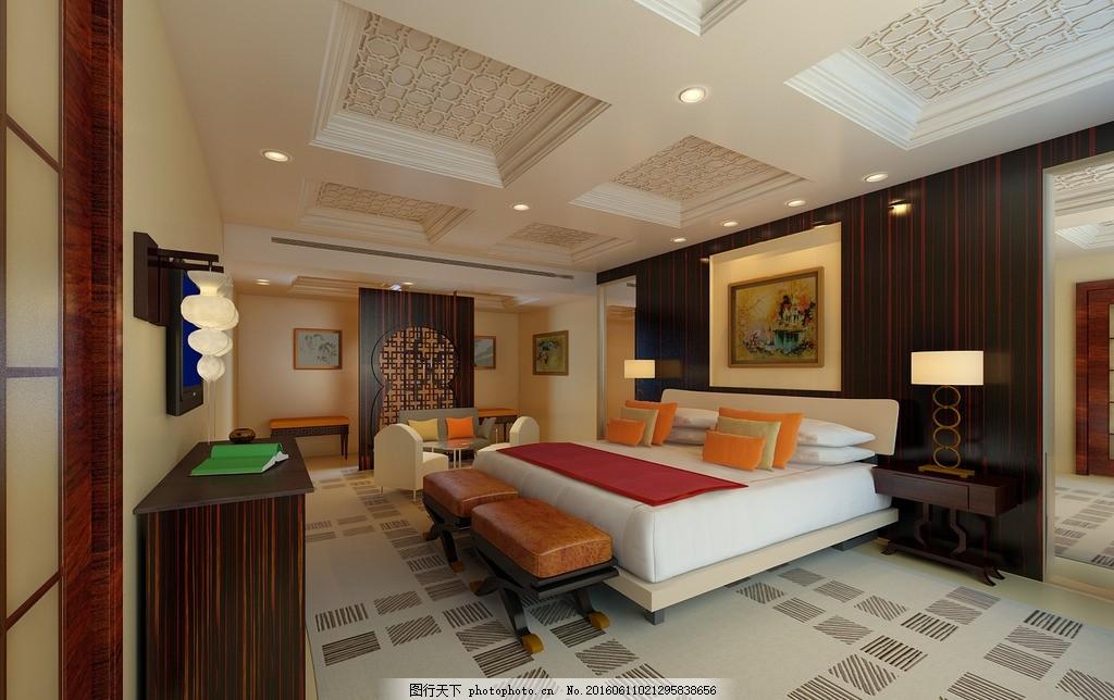 五星级套房 欧式 古典 五星级 套房 酒店 设计 3d设计 室内模型 max