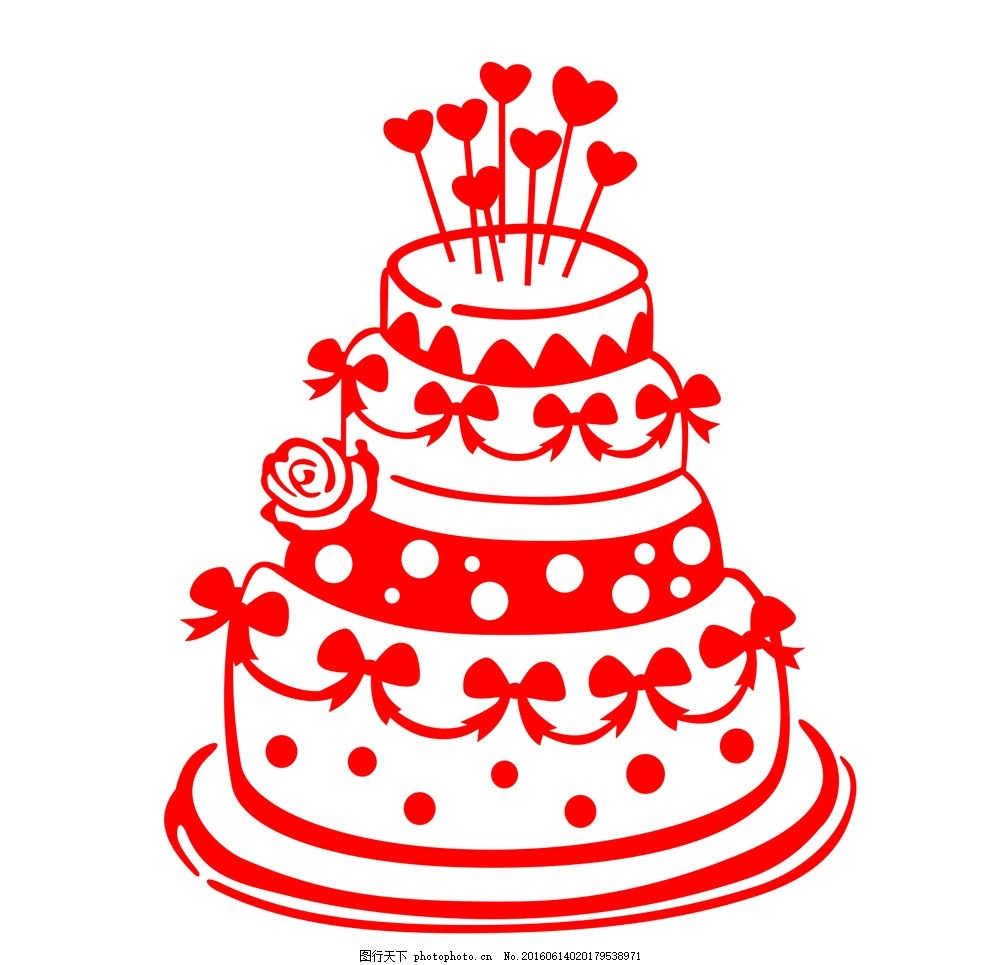 生日蛋糕 贴纸 墙贴 蛋糕店 烘焙店 设计 标志图标 其他图标 cdr
