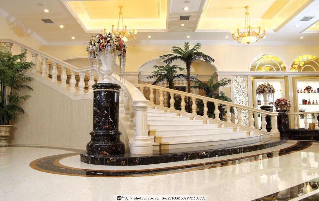 楼梯 陶瓷 瓷砖 薄板 豪华 欧式 陶瓷图片艺术 摄影 建筑园林