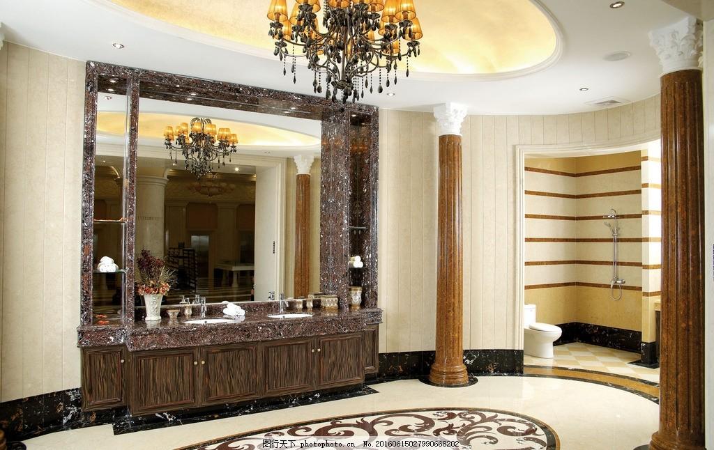 卫生间,陶瓷 瓷砖 薄板 洗手间 豪华 欧式 陶瓷图片