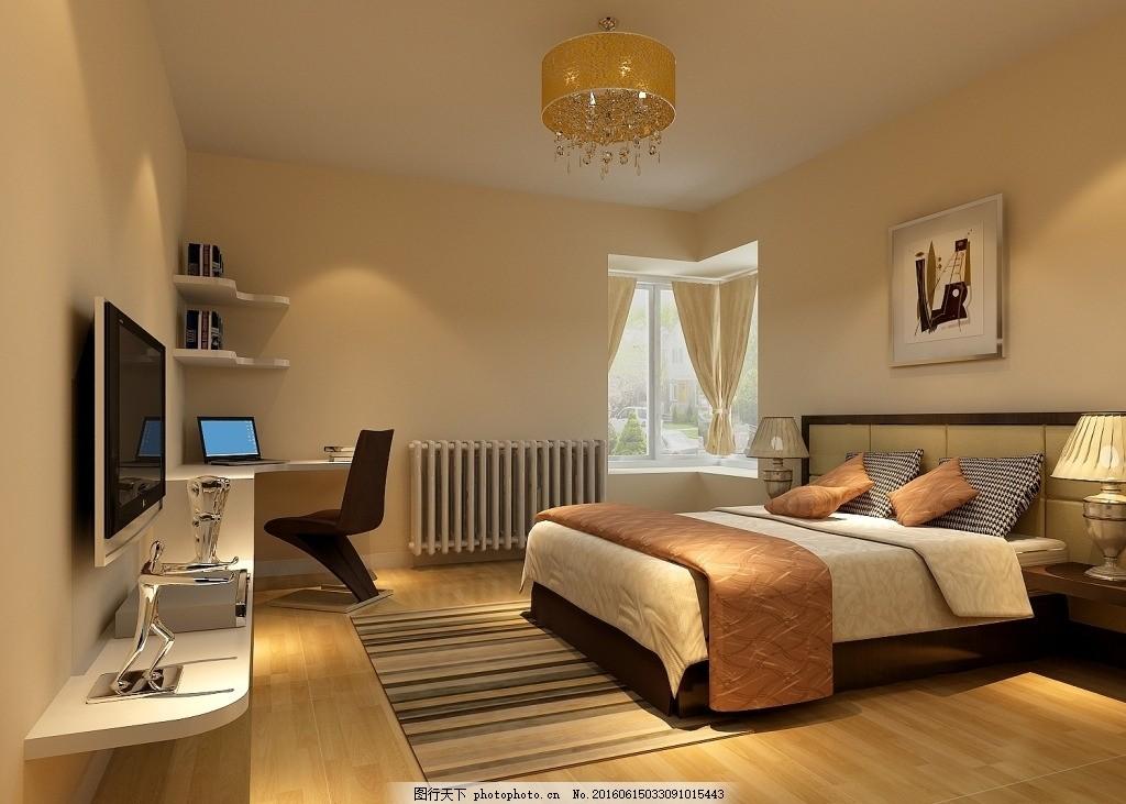3d室内装饰效果图 装修 装潢 卧室效果图 其它