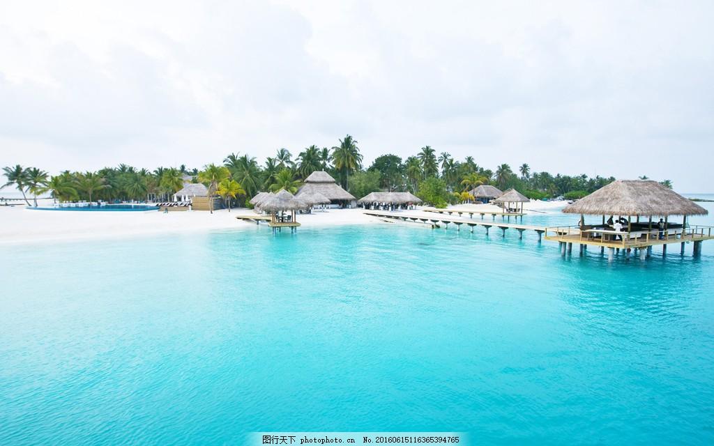 海边度假区风景图片