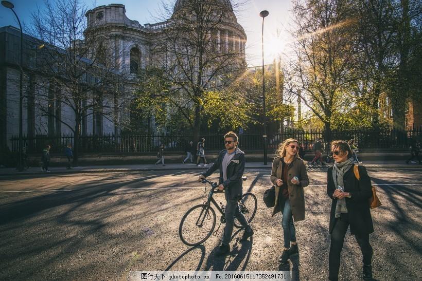 英国伦敦街头风景
