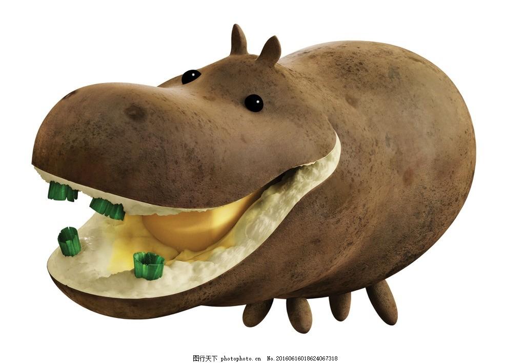 天降美食 水果世界 水果动物 土豆 索尼动画 动画海报 动漫动画