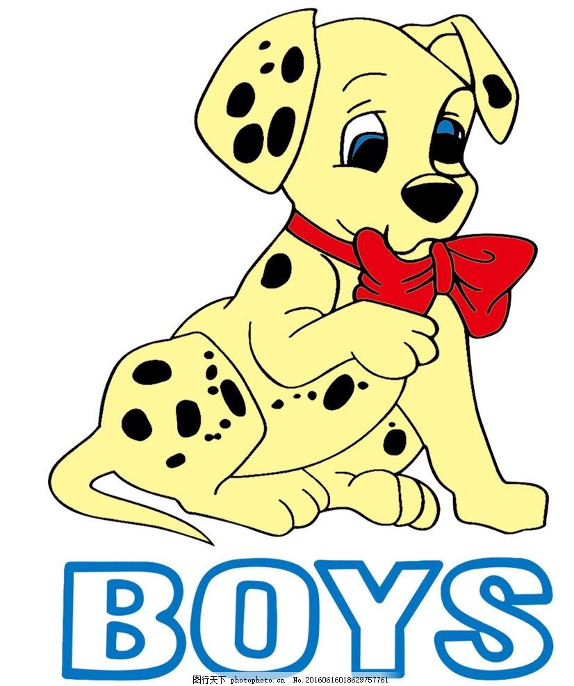 可爱斑点狗 可爱狗狗 卡通封面 卡通狗 漫画狗 卡通动物 手绘