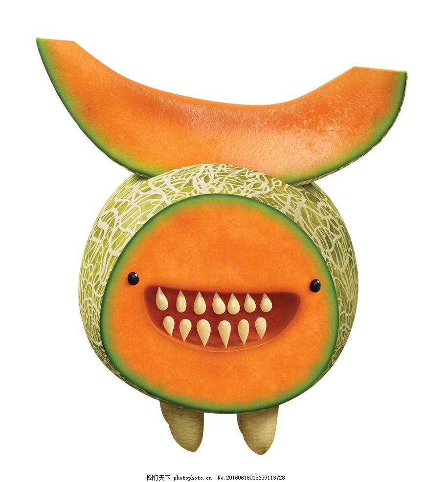 天降美食 水果世界 水果动物 哈密瓜 索尼动画 动画海报 动漫动画