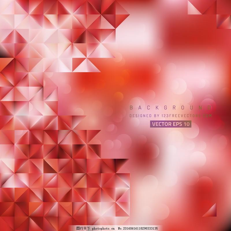 淺紅色背景圖形