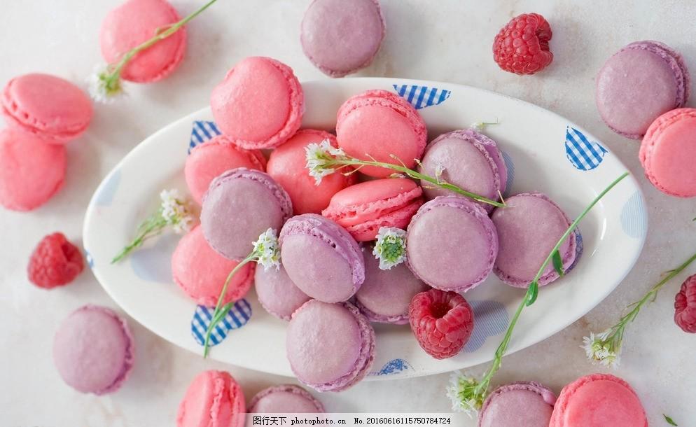 马卡龙 甜点 甜品 甜食 点心 西点 甜蜜马卡龙 甜美 可爱 粉色系 美食