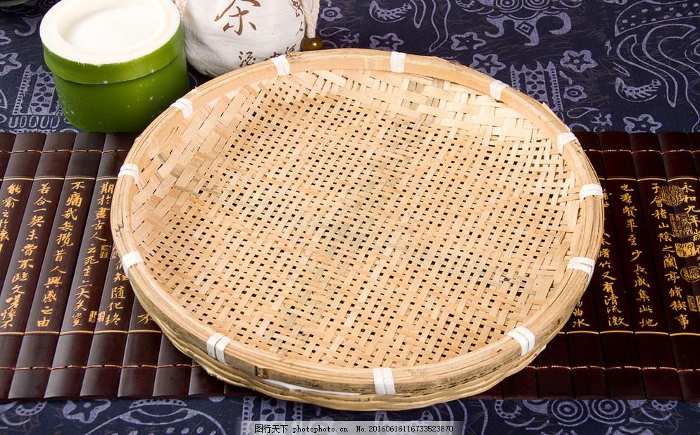 竹匾 乡土文化 中式文化 圆匾 竹器 竹筐 摄影 文化艺术 传统文化