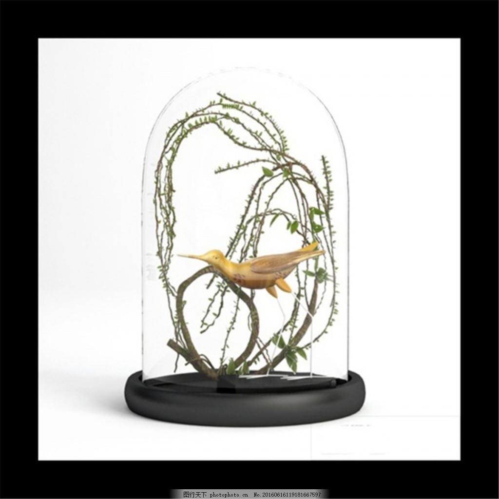 家居 工艺品 装饰模型 装饰物 家装 动物模型 古典 欧式 复古 psd