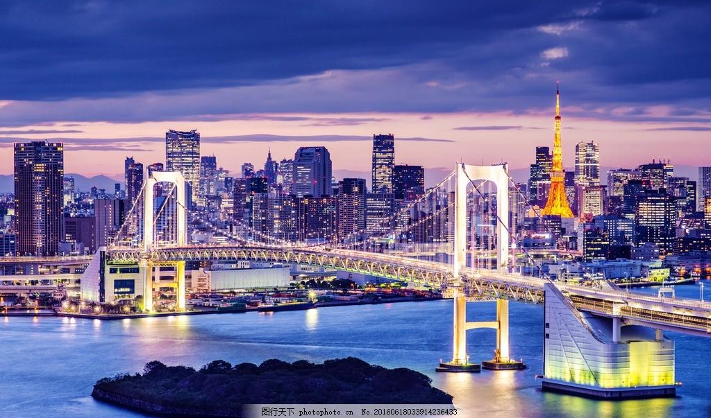 城市夜景 唯美 清新 风景 风光 城市 人文 建筑 时尚 现代 繁华 夜景