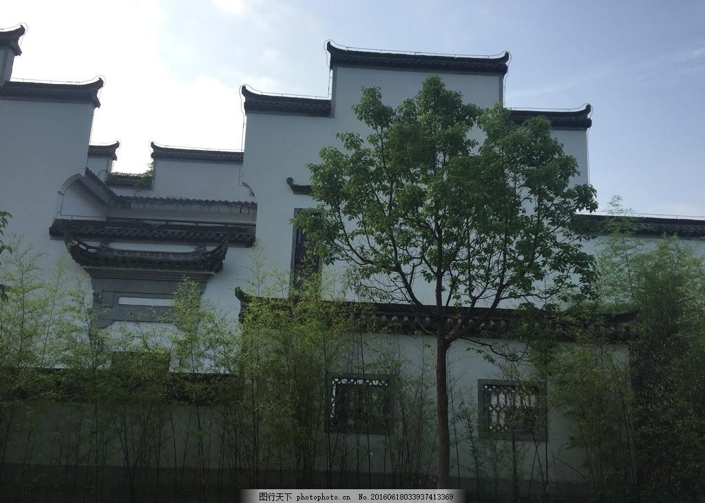 徽派建筑 徽派 建筑 中国风 中国古建筑 古老建筑 马头墙 摄影 旅游
