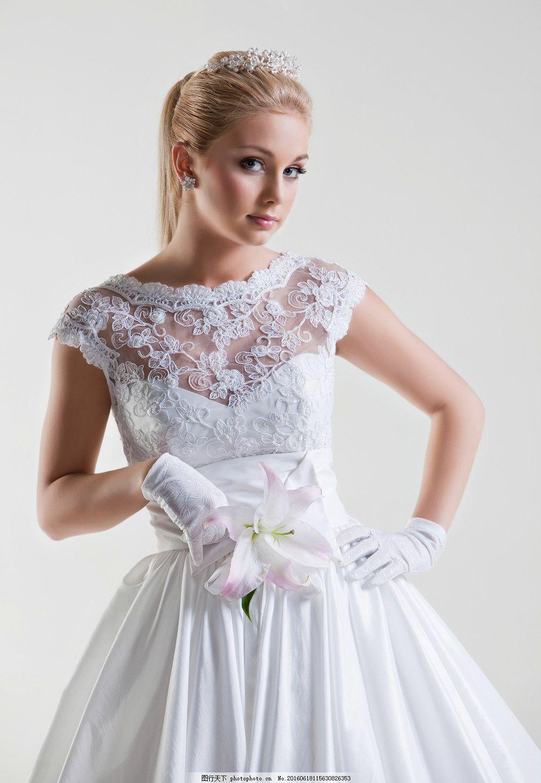 欧式唯美婚纱 欧式婚纱 唯美 婚纱 白纱 礼服 婚纱美女