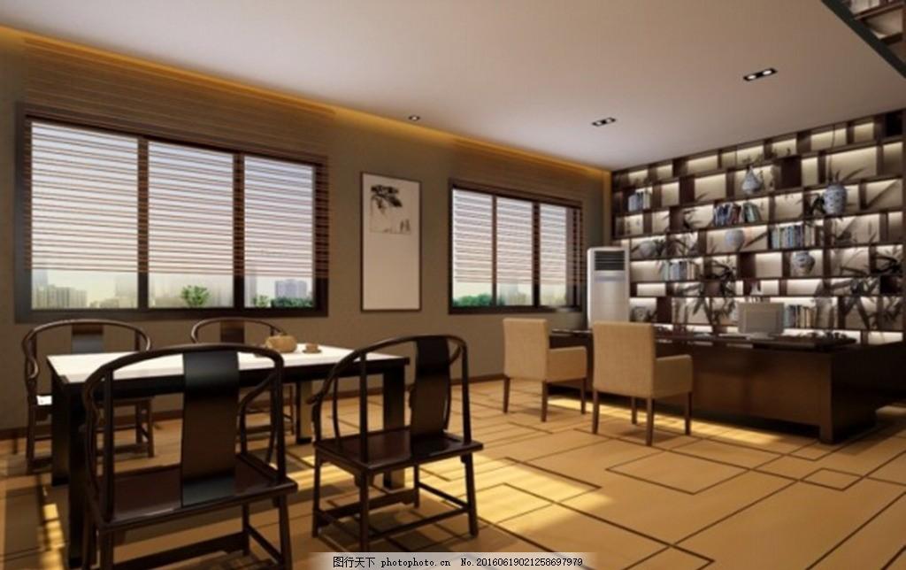 3d客厅效果图 卧室效果图 书房效果图 总统套房效果 厨房效果图