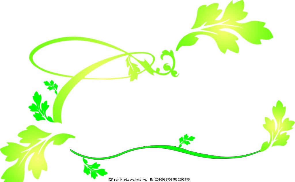 落叶 漂移叶子 树藤 叶子 藤叶 绿叶 设计 广告设计 广告设计 cdr