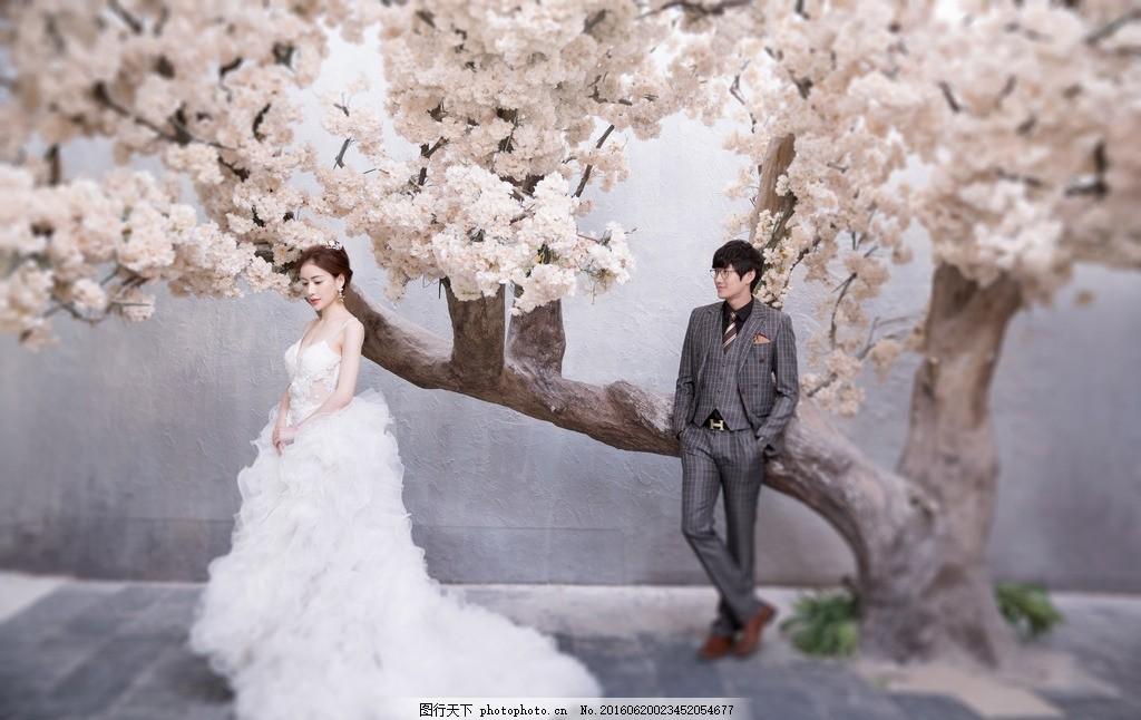韩式 欧式 中式 婚纱照 婚纱摄影 地中海 樱花 人物摄影