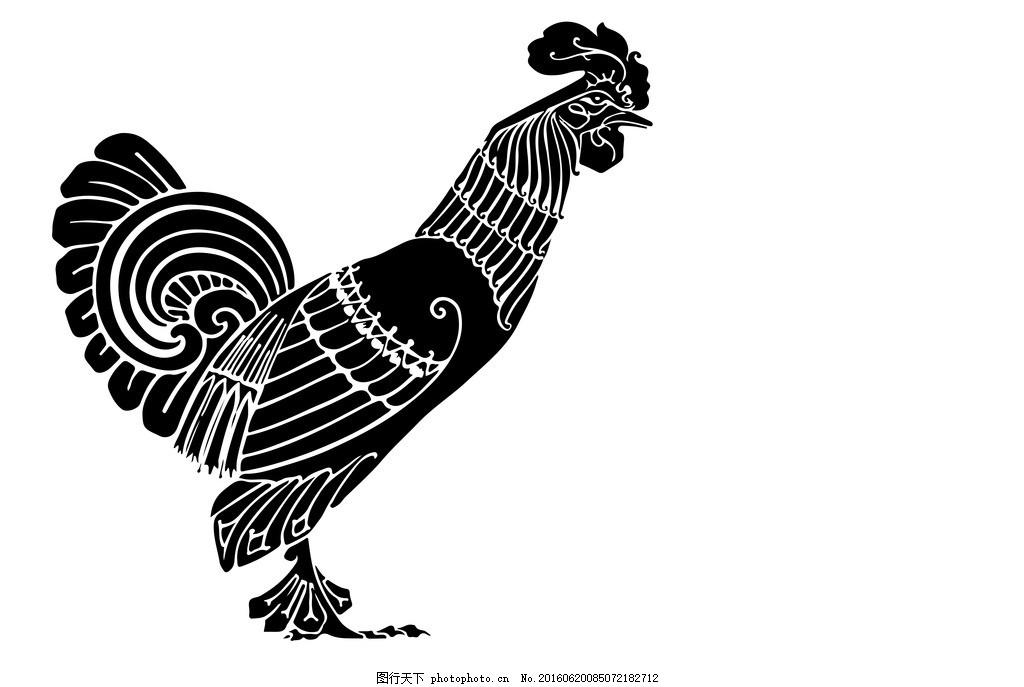 公鸡 彩绘公鸡 手绘公鸡 撑腰鸡 可爱公鸡 彩色公鸡 功夫鸡 鸡鸣