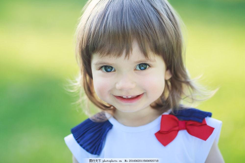 可爱的外国小女孩图片