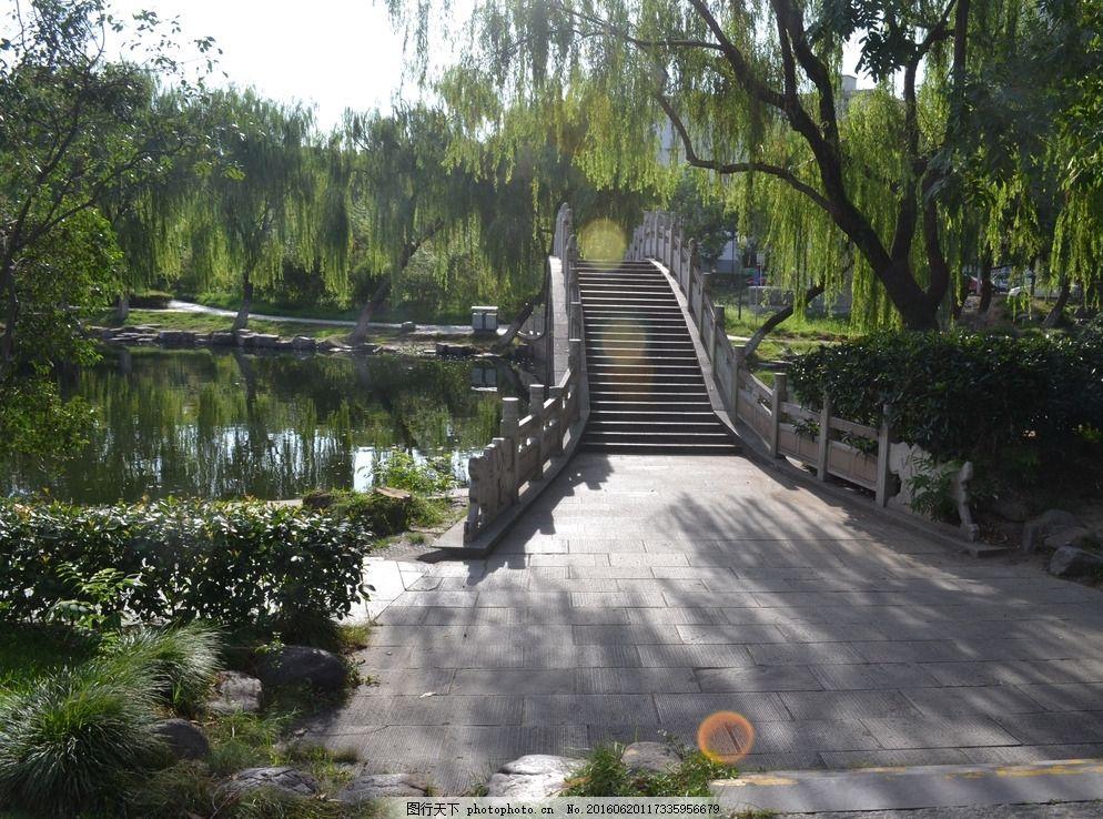 宁波建筑 宁波城市风光 园林景观 城市水景 倒影 建筑摄影 中式园林图片