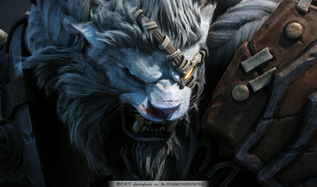 lol傲之追猎者壁纸 狮子狗 雷恩加尔 高清壁纸 动漫动画