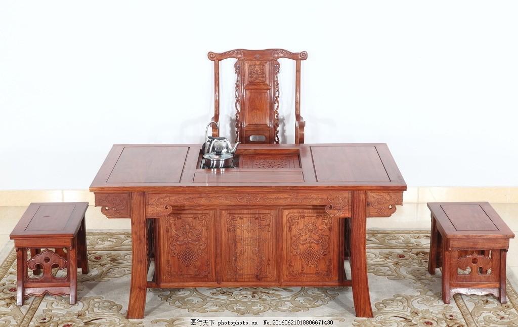 桌子,古典茶桌 客厅茶桌 茶桌场景 内景 传统 中国风