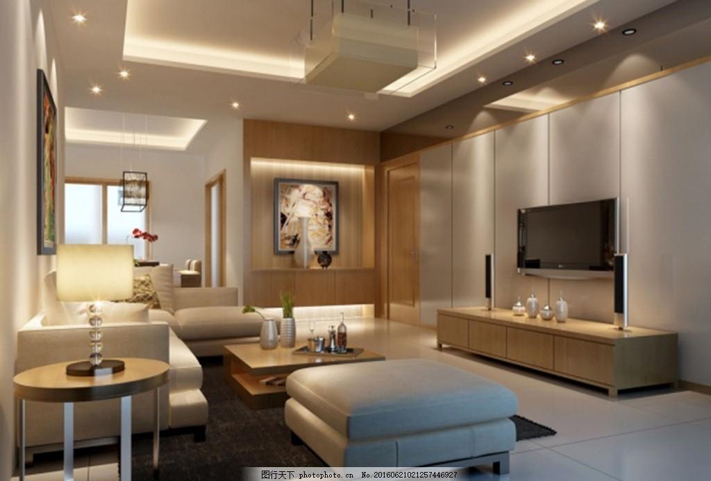 豪华客厅 家装模型 室内模型 客厅模型 欧式装修 欧式模型 高档3d模型