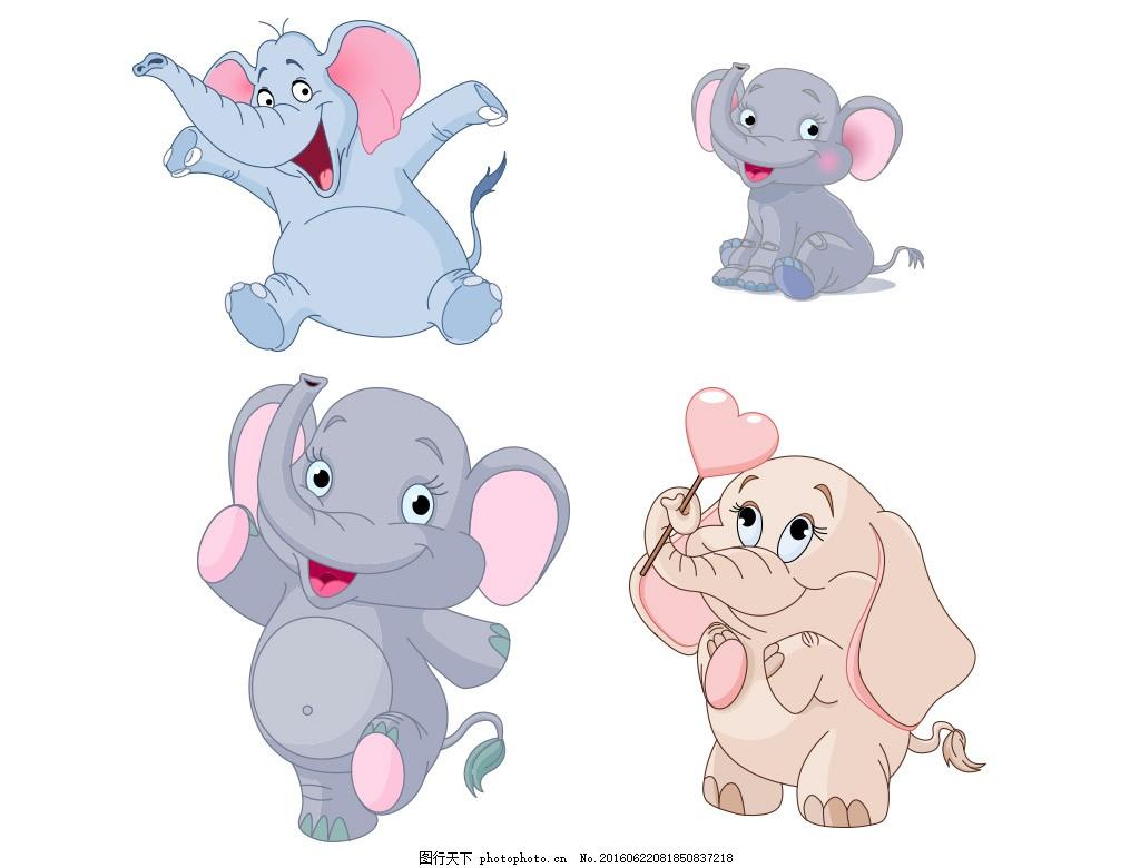 可爱的小象一年级简谱