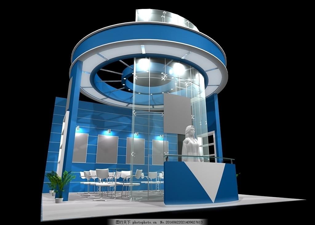 展台 展览 展厅设计 展台 展览 展厅 设计 工装 特装 源文件 毕业作品