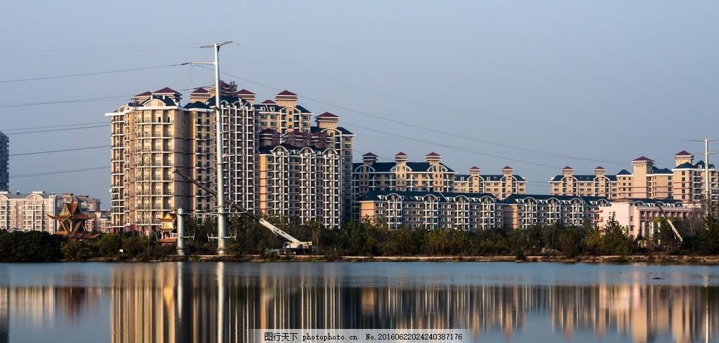 武汉风景建筑 武汉 城市 美景 蓝天 碧水 建筑园林 建筑摄影 自然景观