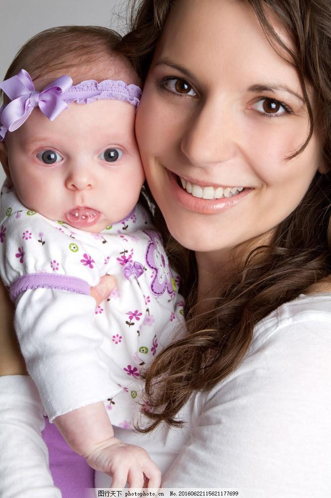 可爱boby 可爱宝贝 母女摄影 国外宝宝 国外女人 微笑女人 妈妈 母女