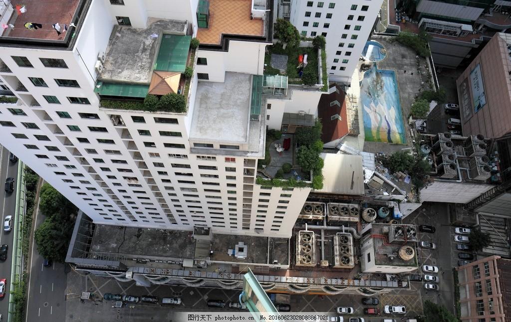 建筑俯瞰 建筑 俯瞰 畏高 高空 往下看 地面 俯视 摄影 建筑园林 建筑