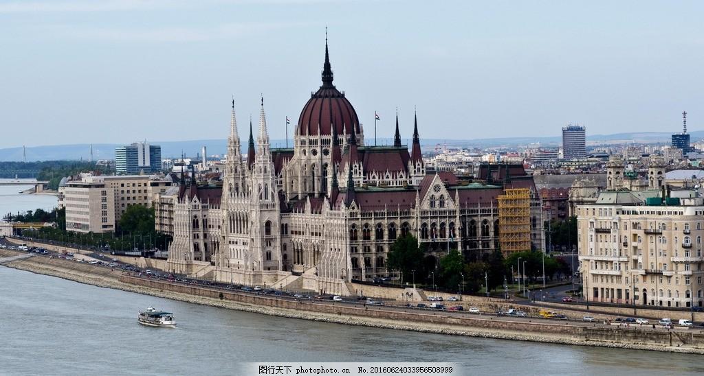 城堡 教堂 圆顶城堡 尖顶城堡 欧式建筑 房子 城市 海边城市