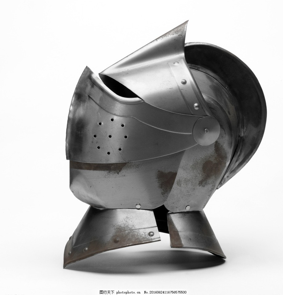中世纪骑士头盔高清 欧式 传统文化 文化艺术 摄影