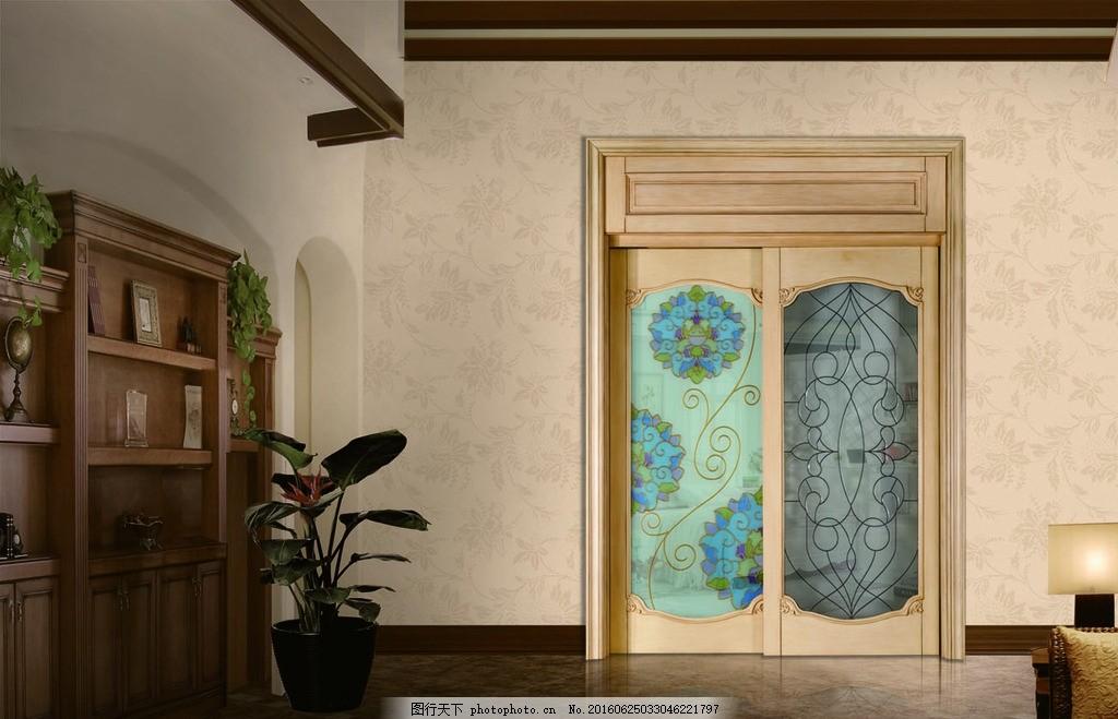 豪化门 装修门 房门 推拉门 欧式约门 玻璃门窗 家居效果