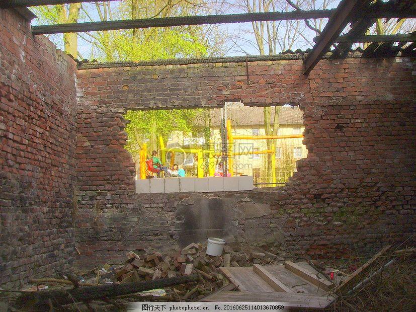 破旧的房屋