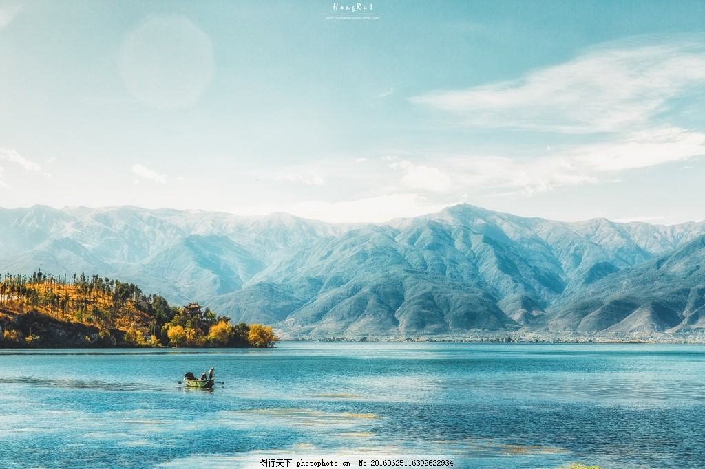 唯美山水风景图片