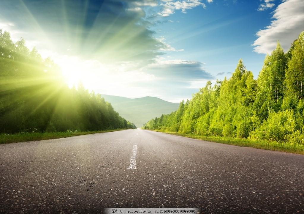 秦皇岛公路 唯美 风景 风光 旅行 夕阳 落日 日落 黄昏 傍晚
