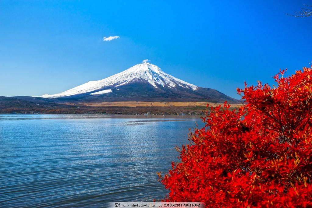 美丽的日本富士山风景图片