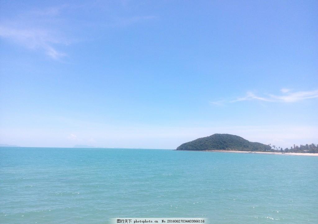 素叻他府 旅行 蓝天 白云 海景 沙滩 海边 小岛 拉迈 查文 查汶 南园