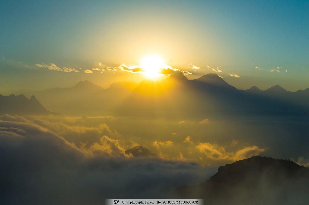 唯美日出风景图片