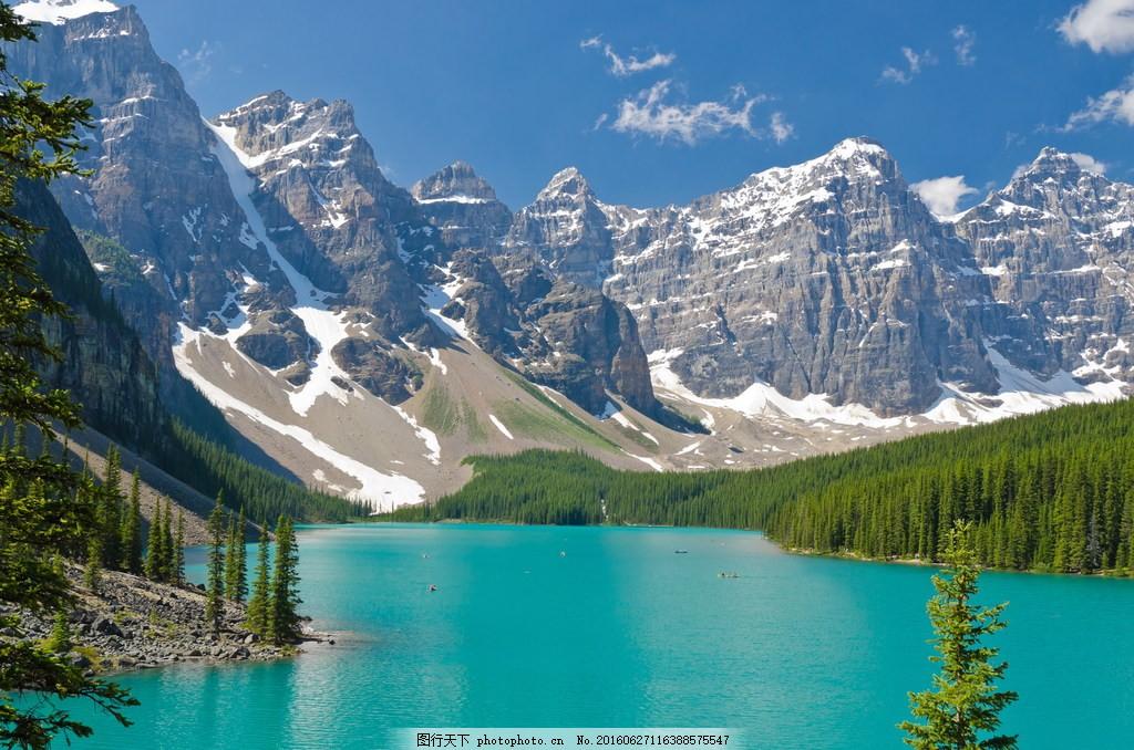 唯美雪山风景图片素材下载 壮丽风景 壮丽 山水风景 湖泊 大自然