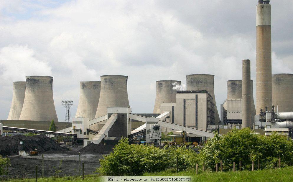火电厂摄影图片