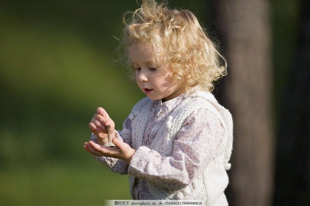 外国可爱小女孩图片