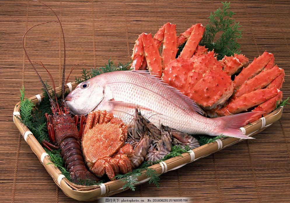 海鲜拼盘 海鲜火锅 涮锅子 韩式烧烤 韩式海鲜拼盘 摄影 餐饮美食图片