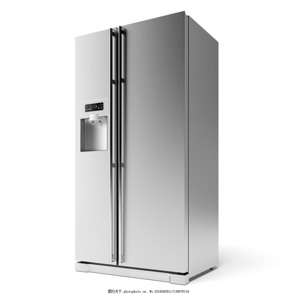 冰箱图片,双门冰箱 双开门 电冰箱 电器 家电-图行
