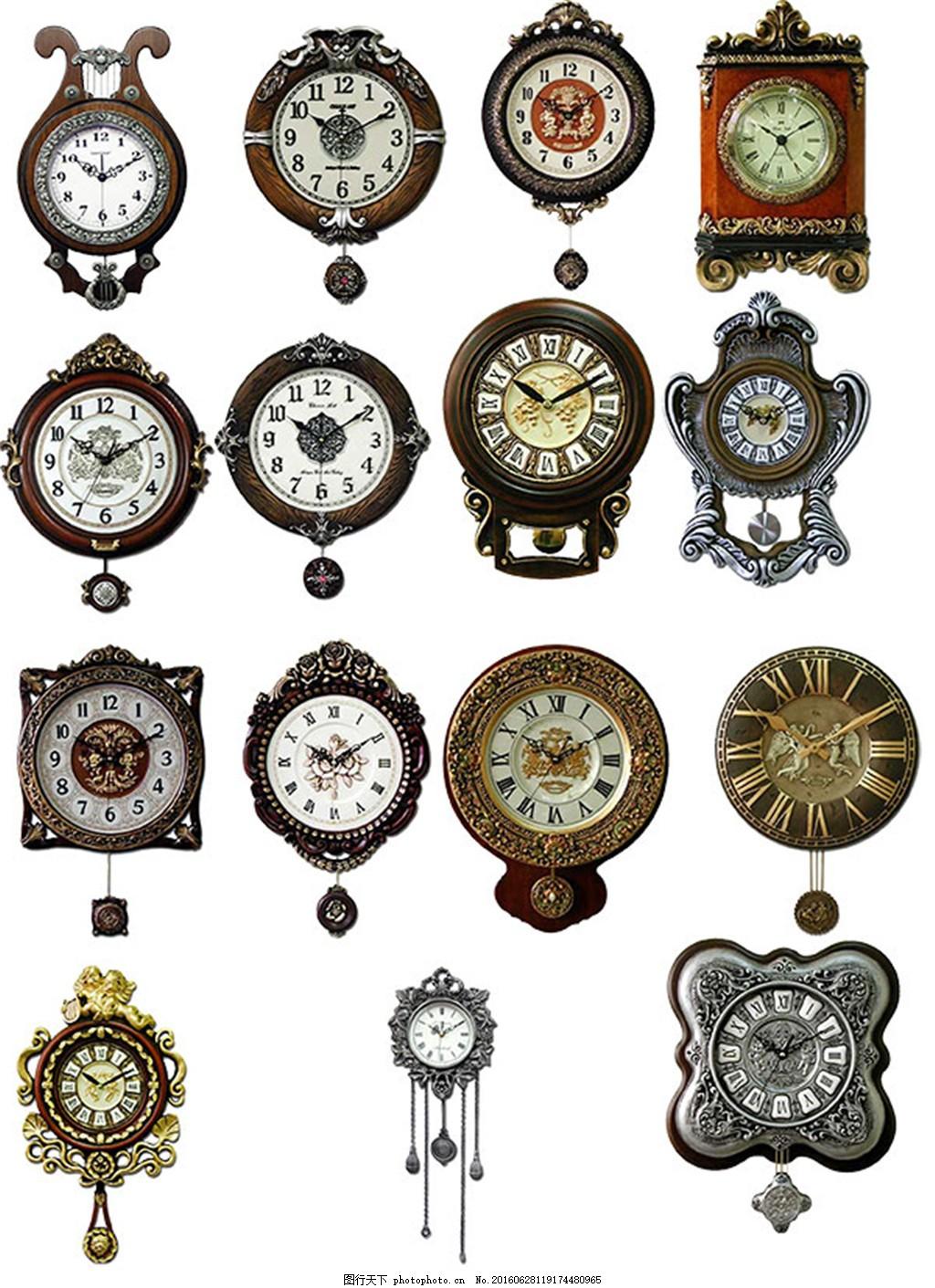 欧式古典钟表