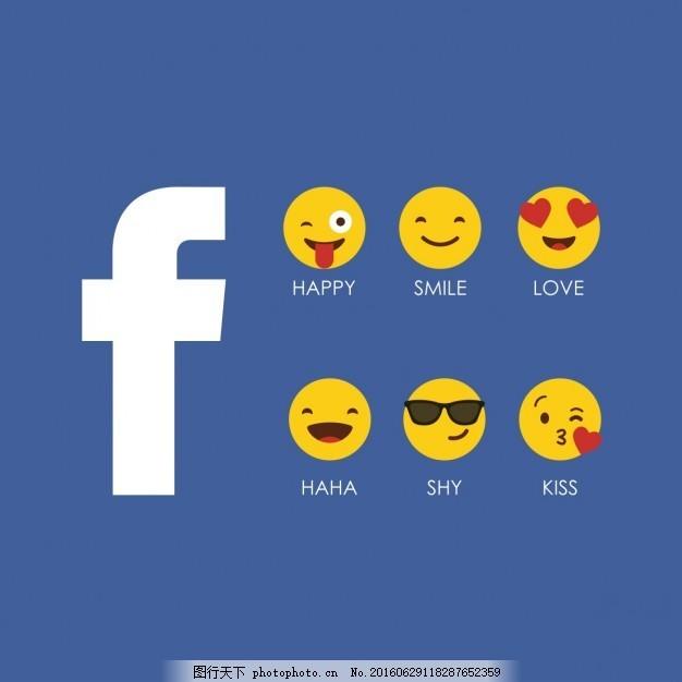 背景 人 爱 图标 脸谱网 网络 漫画 微笑面对 快乐 个性 可爱的笑脸