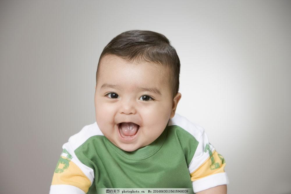 张大嘴巴的婴儿图片素材 婴儿 可爱 张大嘴吧 开心 大笑 大眼睛 胖胖